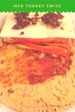 MFK Lunch: Turkey Swiss Wrap