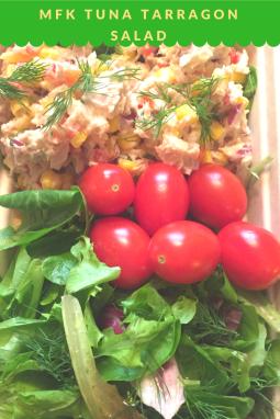 MFK Lunch: Tarragon Tuna Salad